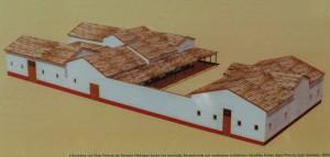 Het huis van Drusus op het Kops Plateau.