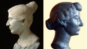 De tutulus (links) en de nudus (rechts).