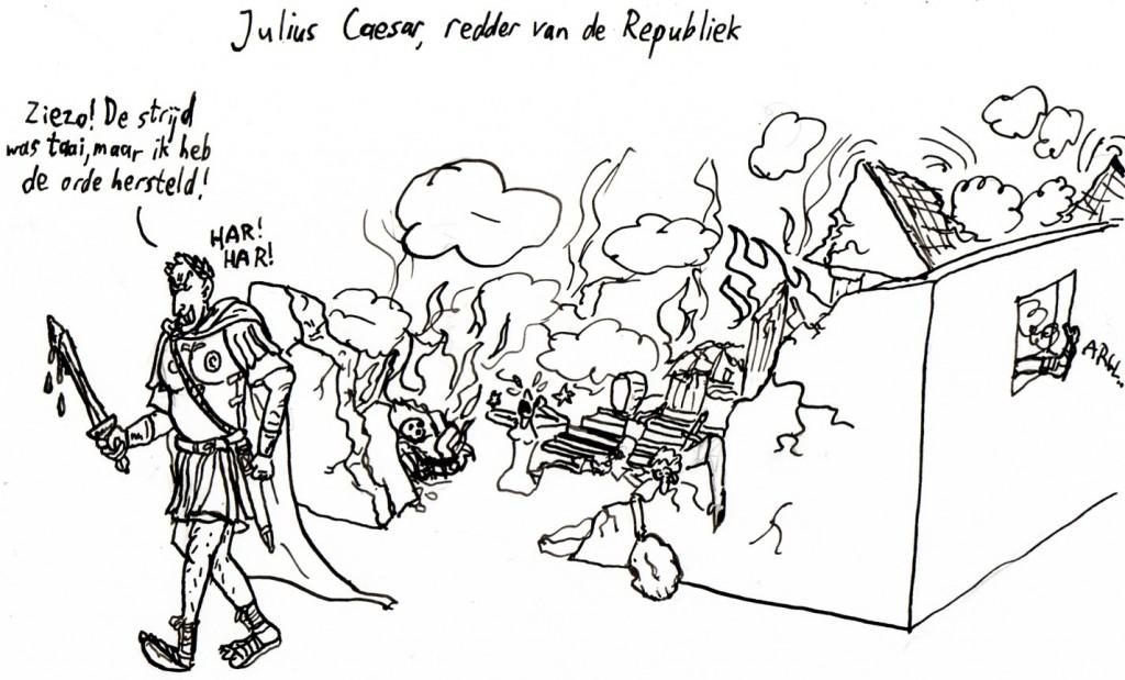 11 Caesar cartoon