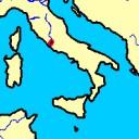 De Romeinen hebben het meeste gebied rondom Rome wel in handen, maar meer ook niet.