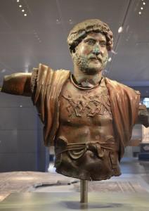 Hadrianus was de eerste keizer met een volle baard, als teken van zijn bewondering voor de Griekse cultuur. (Israel Museum)