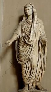 Augustus als Pontifex Maximus.