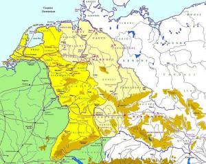 Campagnes van Tiberius in Germania. De beoogde provincie kwam nooit van de grond.