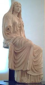 Livia Drusilla II, Augustus' vrouw en meest vertrouwde raadgeefster. Maar niet geheel zonder eigen agenda.
