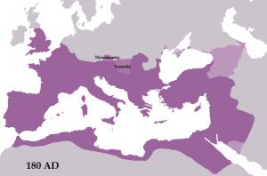 Marcus Aurelius wilde het land van de Sarmaten en de Marcomannen als nieuwe provincies inlijven, maar zover kwam het niet.