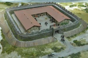 Het mini-fort van Ockenburgh, wat een kleine cavalerie-eenheid bevatte, diende ongetwijfeld om de westkust te beveiligen tegen de Chauken.