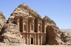 Onder Trajanus werden ook de Nabateeërs en hun hoofdstad Petra, in JordaniË, deel van het Romeinse Rijk.