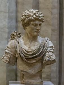 Terracotta beeld van Antonius Primus, de man die Vitellius afzette, door Marc Arcis.