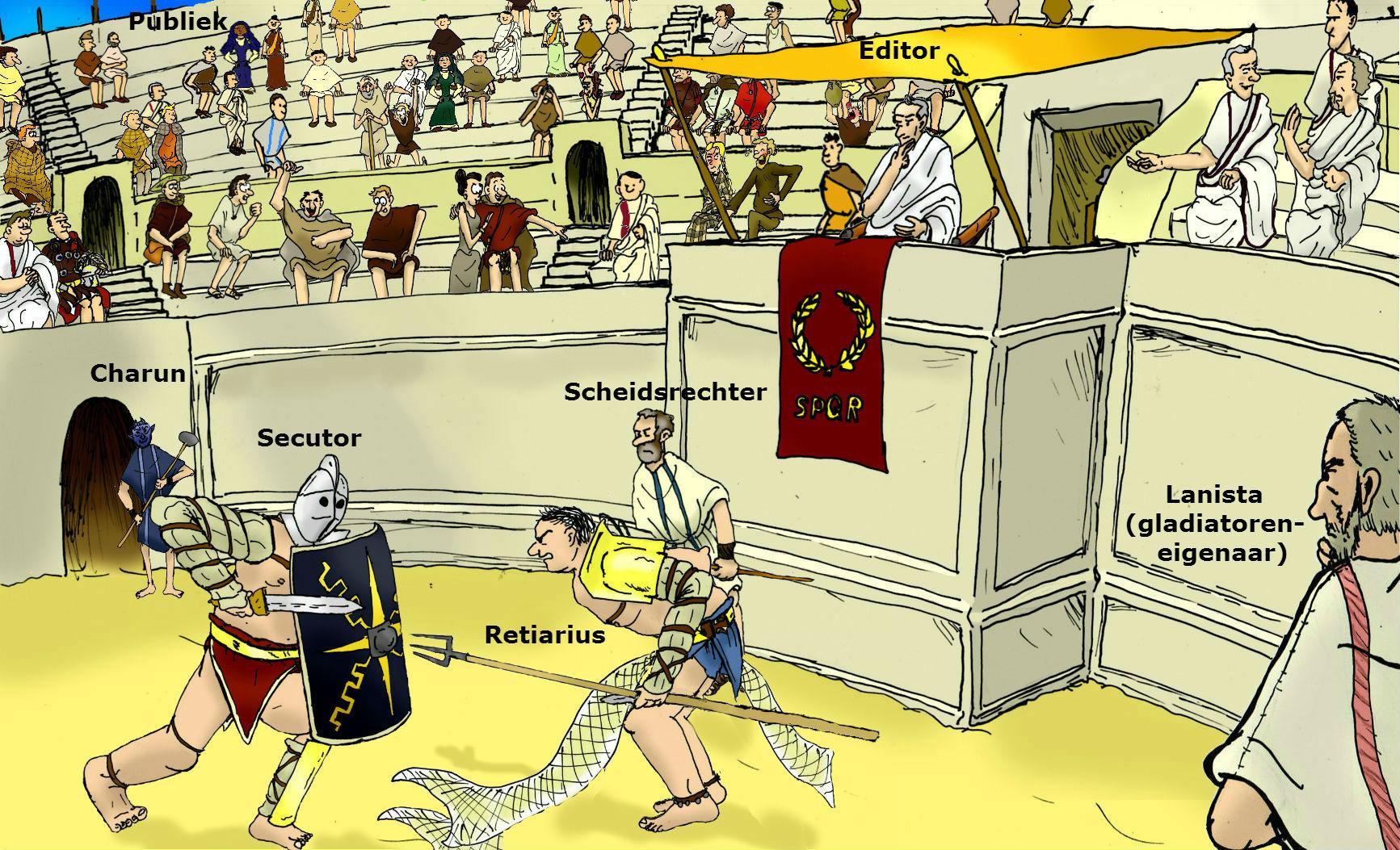 Gladiatoren TEKST