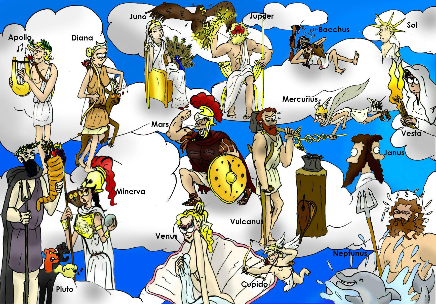 griekse goden stamboom zeus
