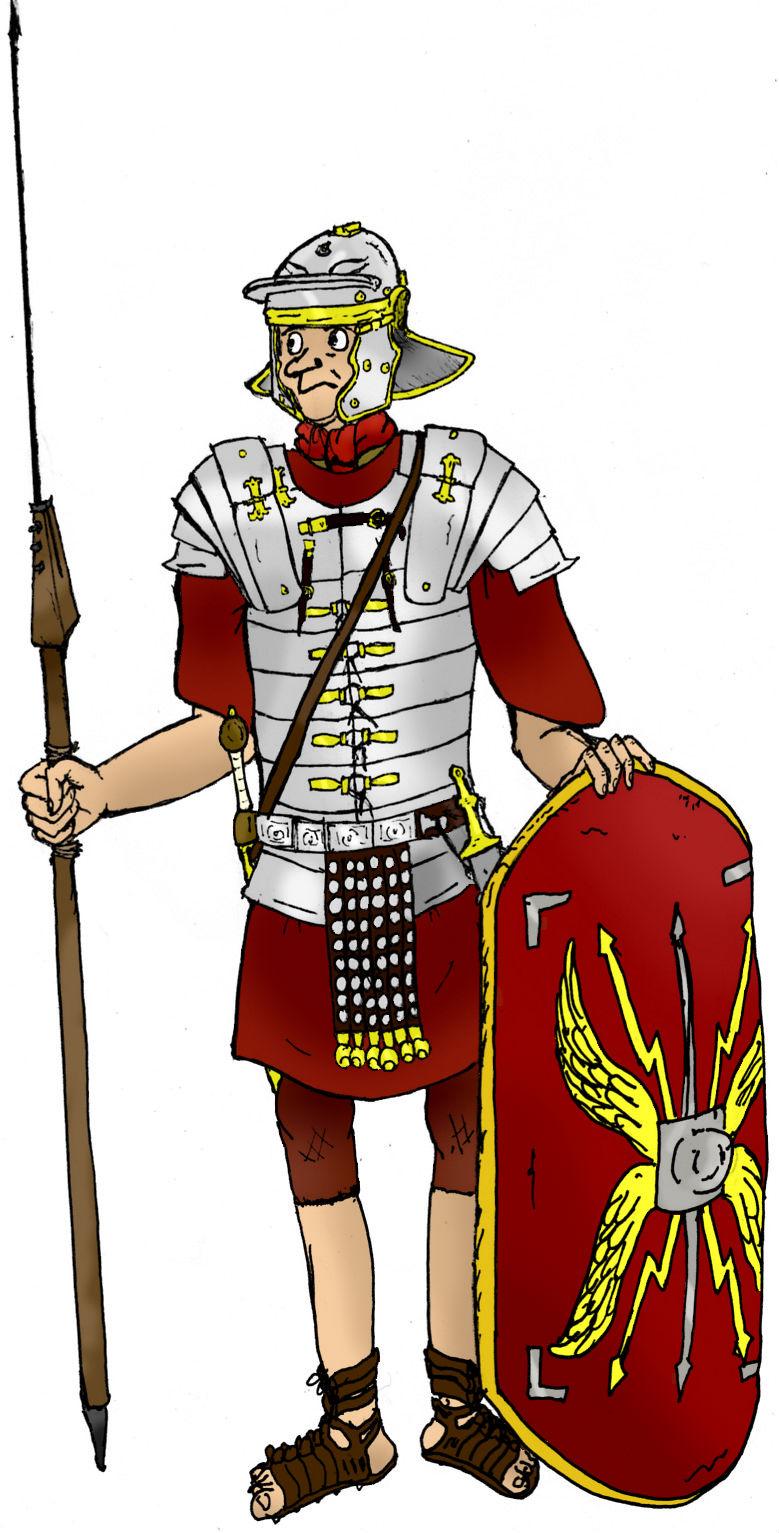 De Soldaten Romeinen Info