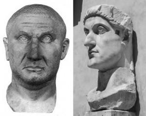 Licinius en Constantijn wisten bij Galerius af te dwingen dat zij als volwaardige keizers erkend werden. Maar uiteindelijk zouden de bondgenoten slaags raken.