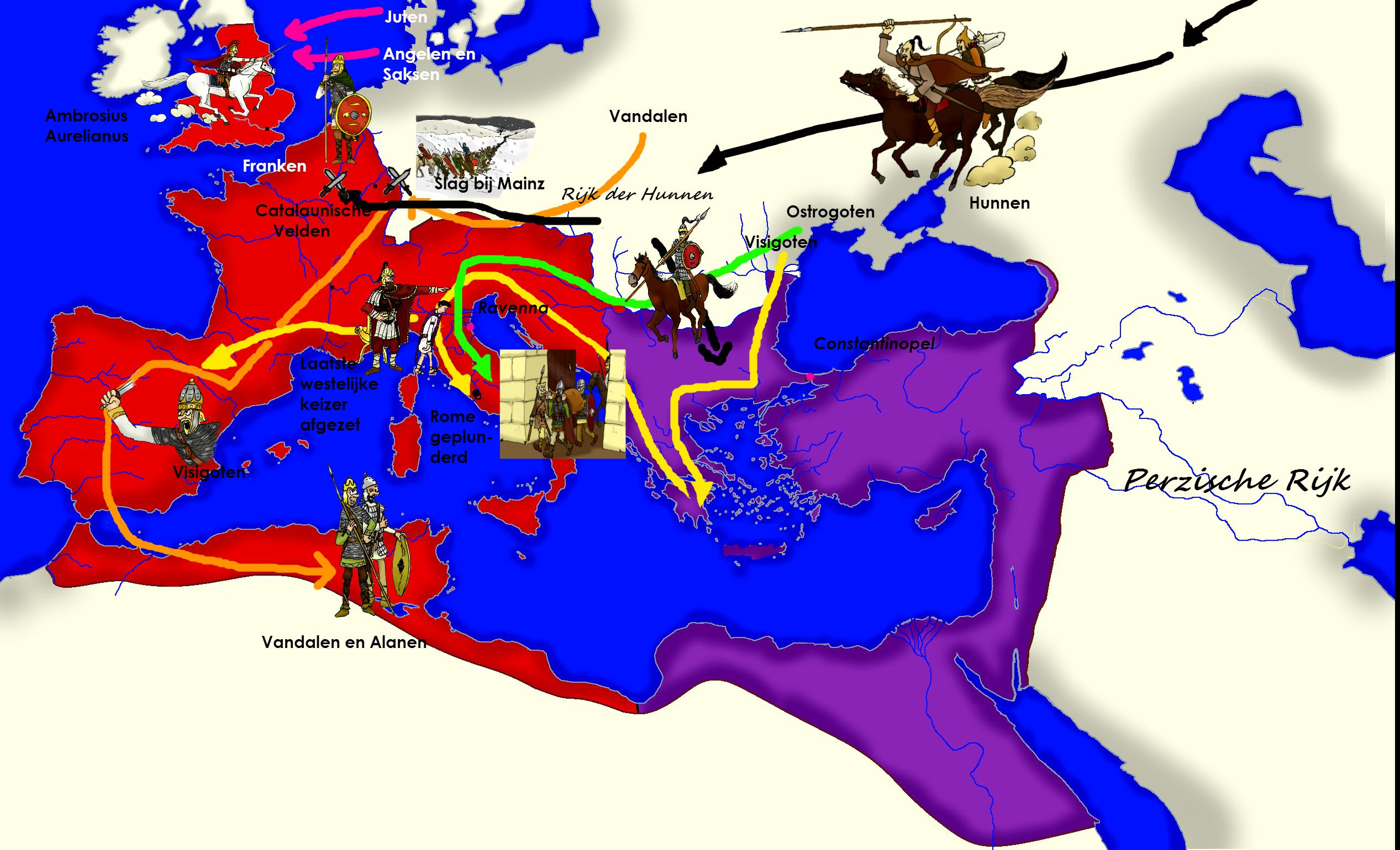 Ondergang van Rome TEKST