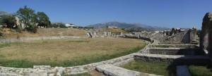 Het amfitheater van Salona, de geboorteplaats van Diocletianus.