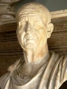 Keizer Trajanus Decius trachtte terug te grijpen op oude idealen en de orde met harde hand te herstellen.