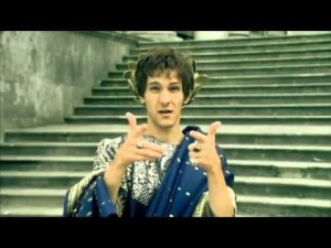 Het Britse jeugdprogramma Horrible Histories neemt de bizarre loterijen van Elagabalus op de hak.