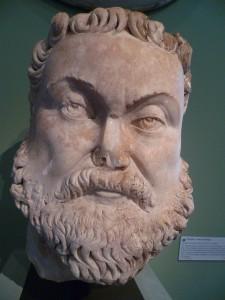 """Diocletianus' vriend en uiteindelijke medekeizer Maximianus. De westelijke keizer moest zich toch vaak plooien naar de wil van zijn """"meerdere"""" in het oosten, maar deed dit niet altijd van harte."""