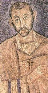 Bisschop Ambrosius van Milaan (Sint-Ambrosius) had een zeer sterke invloed op Gratianus en Valentinianus II.