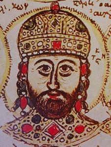 Constantijn XI Palaiologos, de laatste keizer van Byzantium en daarmee de laatste officiële Romeinse keizer, sneuvelde in 1453.