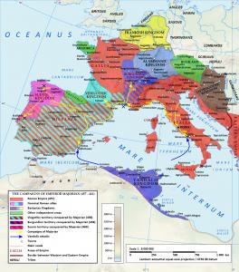 Majorianus vocht als een leeuw om het West-Romeinse rijk te herstellen. Achteraf was het niet meer dan een laatste stuiptrekking.