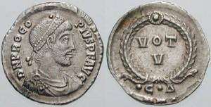 Procopius, de neef van wijlen Julianus, maakte het Valens behoorlijk lastig als tegenkeizer.