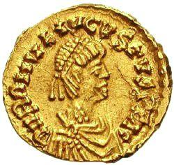 Keizer Romulus, die ironisch genoeg zijn naam deelt met de legendarische eerste koning van Rome. Ironisch omdat hij traditioneel als de laatste westelijke keizer beschouwd wordt (maar niet geheel terecht).