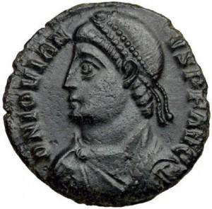 Keizer Jovianus kwam even verrassend aan de macht als hij ten onder ging.