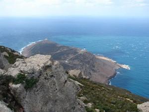 Kaap Bon, in het huidige Tunesië. De latere Byzantijnse keizer Bailiscus leed hier een verpletterende nederlaag.