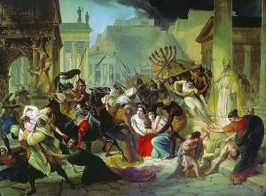 De beruchte plundering van Rome duurde twee weken en zou de oorsprong van het woord vandalisme zijn. Toch had de schade veel erger kunnen zijn.