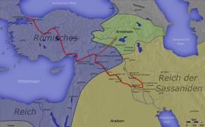 De veldtocht in Perzië was bij aanvang van Jovianus' regering jammerlijk mislukt, zodat er fors ingeleverd moest worden.