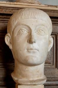 Buste van Valens, die in 373 door zijn oudere broer tot medekeizer werd benoemd.