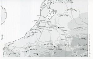 De Lage Landen in de tijd van Drusus.