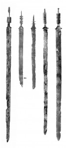 Zwaardfragmenten uit Kessel wijzen op rituele begrafenissen