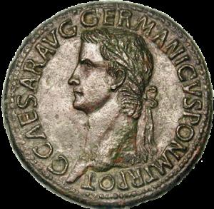 Op veel munten lijkt Caligula als militair triomfator te worden neergezet. Dat zou kunnen betekenen dat zijn werk aan de Gallische kust toch niet zo idioot was als men beweerde.