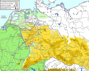 De laatste veldtocht van Germanicus, in 16 na Chr.