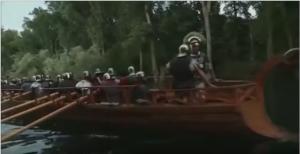 Het arriveren van de Kanaalvloot en het 14e legioen was een ernstige bedreiging voor de rebellen in de Rijndelta.