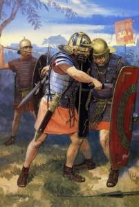 Bij Bedriacum vocht Romein tegen Romein.