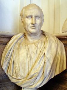 Buste die Cicero voorstelt uit de 1e eeuw na Chr.