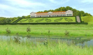 De Gallo-Romeinse villa van Groesbeek-Plasmolen. Vermoedelijk bezat Civilis als grootgrondbezitter (hij was edelman en veteraan met burgerrecht) ook een luxueuze Gallo-Romeinse villa.