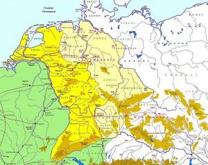 De veldtochten van Tiberius en Ahenobarbus, 3-6 na Chr.
