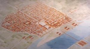 Colonia Claudia Ara Agripinnensis, oftewel Keulen. Eén van de weinige Romeinse steden die gesticht werd in de nabijheid van een legerplaats. (Foto: vici.org)