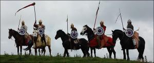Een Romeinse comitatus, een mobiel veldleger, werd gekenmerkt door zware cavalerie, naar voorbeeld van de Perzische katafrakten.