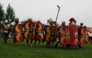 Vereniging Gemina Project beeldt al sinds 1987 de soldaten van Legio X Gemina uit.
