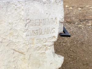 De Steen van Pilatus, gevonden in Caesarea, is het enige fysieke bewijs dat hij echt bestaan heeft. Tacitus, Josephus en Philo bevestigen zijn bestaan echter ook.