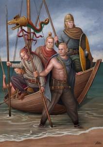 Zeeroversvolken uit Noordwest-Europa werden door de Romeinen vaak bij de Saksen ingedeeld.