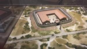 Mini-fort Ockenburgh in de duinen van Den Haag. Het werd bezet tussen 150 en 180 en bevatte vermoedelijk tussen de 30 en 50 rutiers.