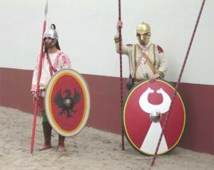 Het Romeinse leger bestond in de 5e eeuw steeds vaker uit Germaanse huurlingen en uit foederati. Die foederati bleken niet altijd even betrouwbare bondgenoten.