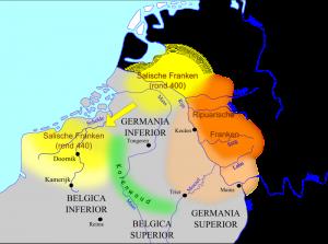 Zelfs toen de Franken eenmaal als foederati op de Betuwe en later ook in Noord-Brabant woonden, konden ze een reële bedreiging voor Maastricht vormen.