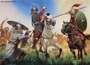 De Germaanse krijgscultuur leidde tot een hoop strijd, maar creëerde ook steeds moeilijkere tegenstanders voor de Romeinen.