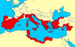 In de tijd van Julius Caesar is het Romeinse rijk al erg groot. Bovendien speelt het de baas over sommige buurlanden.